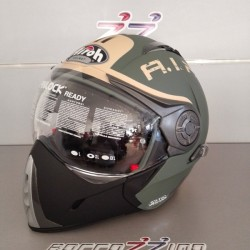 CASCO AIROH J106 SMOKE GREEN MATT - VERDE OPACO