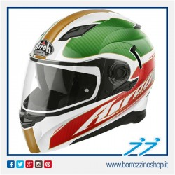 CASCO INTEGRALE AIROH MOVEMENT FAR GOLD GLOSS - TRICOLORE