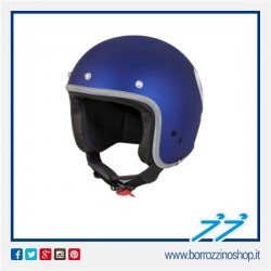 CASCO VESPA COLORS GRAPES BLU - BLU