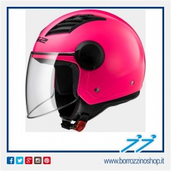 CASCO JET LS2 AIRFLOW ROSA LUCIDO - PINK GLOSS