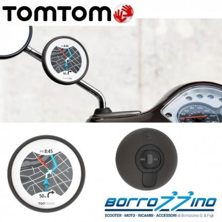 TOMTOM VIO NERO - NAVIGATORE SCOOTER BLUETOOTH CONTROLLATO DA SMARTPHONE TOM TOM