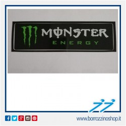 ADESIVO MONSTER ENERGY STRISCIA LUNGA NERA - BLACK DARK