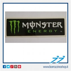 ADESIVO MONSTER ENERGY STRISCIA LUNGA NERA BIANCA - BLACK DARK