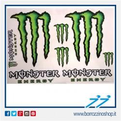 ADESIVO MONSTER ENERGY 6 PEZZI GRANDE