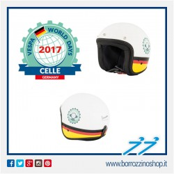 CASCO VESPA WORLD DAYS 2017 - GERMANIA CELLE - COLORE BIANCO