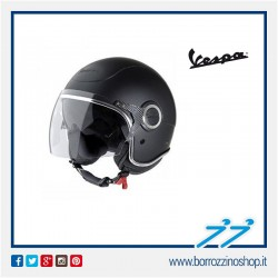 CASCO VESPA VJ NERO OPACO - MATT BLACK