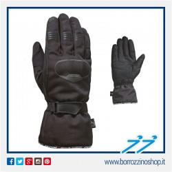 GUANTI INVERNALI IXON PRO RUSH NERO BLACK MOTO SCOOTER IN POLIESTERE GLOVES
