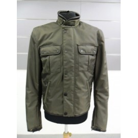 GIACCA BELSTAFF BRADDAN BRIDGE BLOUSON MAN DEEP BROWN