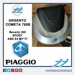 BAULETTO ORIGINALE PIAGGIO BEVERLY 300 SPORT ABS E4 MY 17 - ARGENTO COMETA 760/B