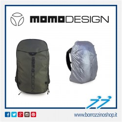 ZAINO NERO MOMODESIGN BACKPACK MD-ONE 2019 NERO