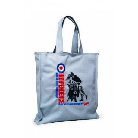 SHOPPER BAG VESPA IN TESSUTO INDIPENDENCE