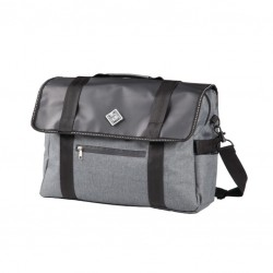 BORSA BEAK SHOULDER BAG TUCANO URBANO GRIGIO IN POLIESTERE IDROREPELLENTE
