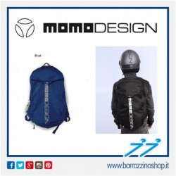 ZAINO BLUE - LOGO GRIGIO MOMODESIGN BACKPACK MD-ONE 2019