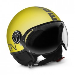 CASCO MOMODESIGN FIGHTER CLASSIC GIALLO OPACO