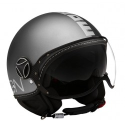 CASCO MOMODESIGN FGTR JOKER NERO GRIGIO SCURO * NEW *