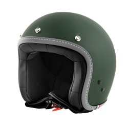 CASCO VESPA COLORS VERDE INGLESE (ENGLISH GREEN)