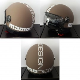 CASCO MOMO DESIGN FIGHTER CLASSIC TORTORA FROST/BIANCO