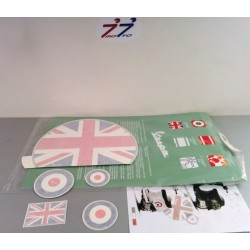 KIT ADESIVI BANDIERA UK VESPA
