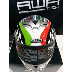 CASCO INTEGRALE Awatech Basic Full Face Outrun