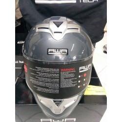 CASCO INTEGRALE Awatech Basic Full Face Mid Grey
