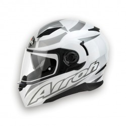 CASCO INTEGRALE AIROH MOVEMENT SHOT WHITE GLOSS - BIANCO