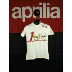 T- Shirt World Championship SBK 2012 ufficiale Aprilia Max Biaggi